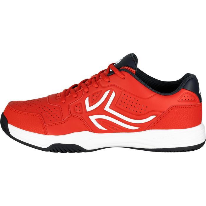 Chaussures de Tennis Homme TS190 Rouge Multi Court