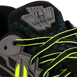 Tennisschuhe TS990 Multicourt Herren schwarz/gelb