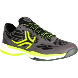 TS990 Multicourt Tennis Shoes - Black/Yellow