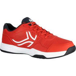 Tennisschoenen TS190 heren rood