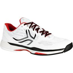 TS990 Multicourt Tennis Shoes - White/Black
