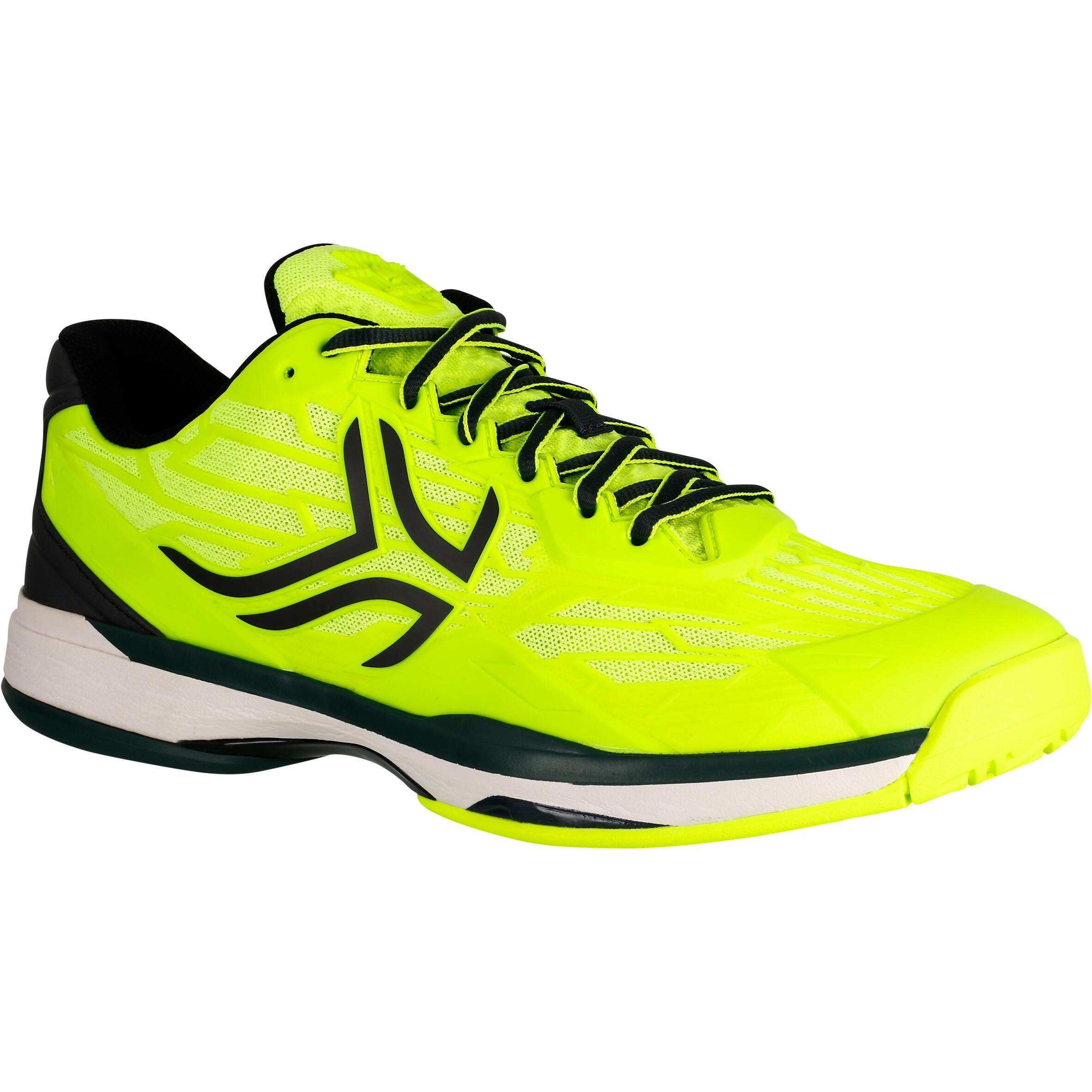 Tennisschuhe TS990 Multicourt Herren neongelb | Schuhe > Sportschuhe > Tennisschuhe | Gelb | Artengo