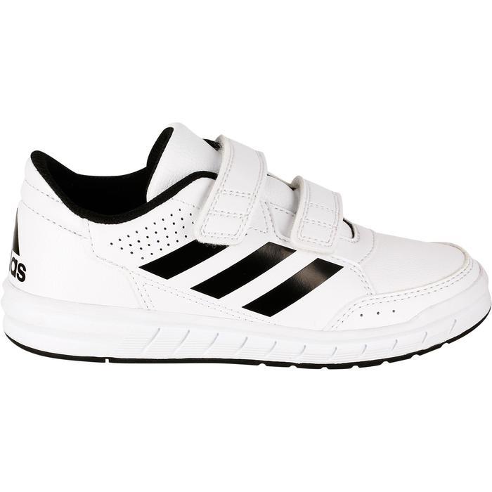Tennisschoenen kinderen Adidas Altasport wit/zwart - 1247311