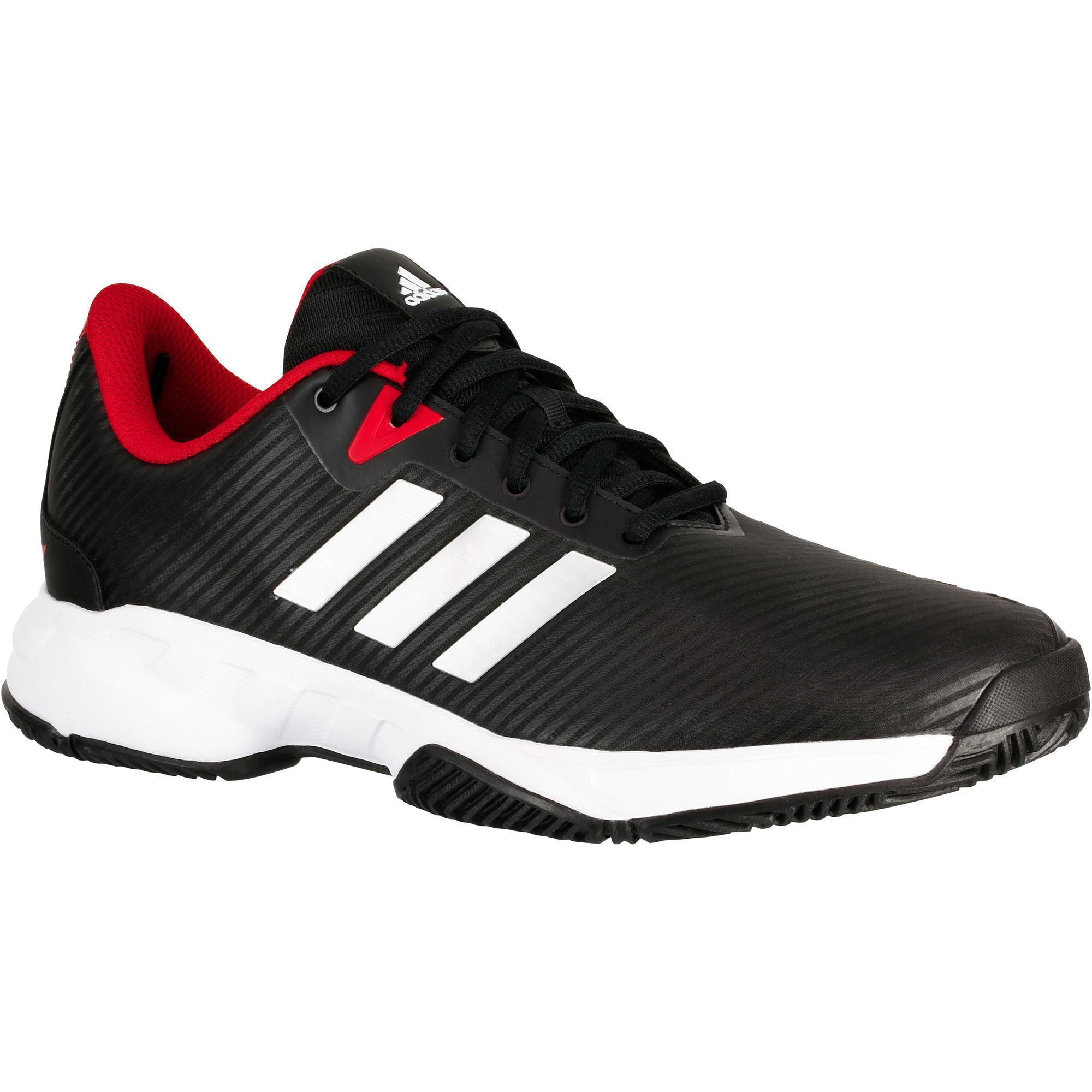 Adidas Tennisschoenen heren Barricade Court zwart