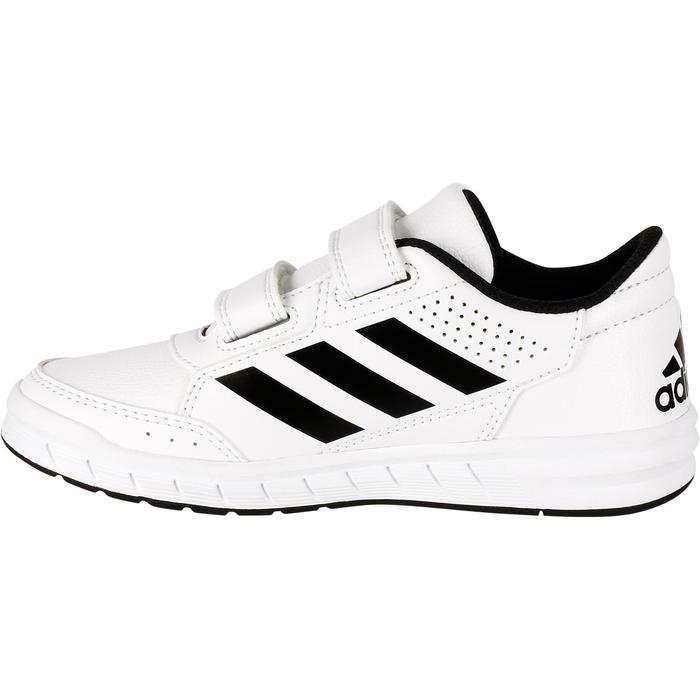 Tennisschoenen kinderen Adidas Altasport wit/zwart - 1247350