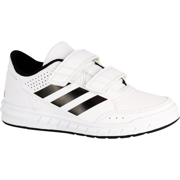 Tennisschoenen kinderen Adidas Altasport wit/zwart - 1247359