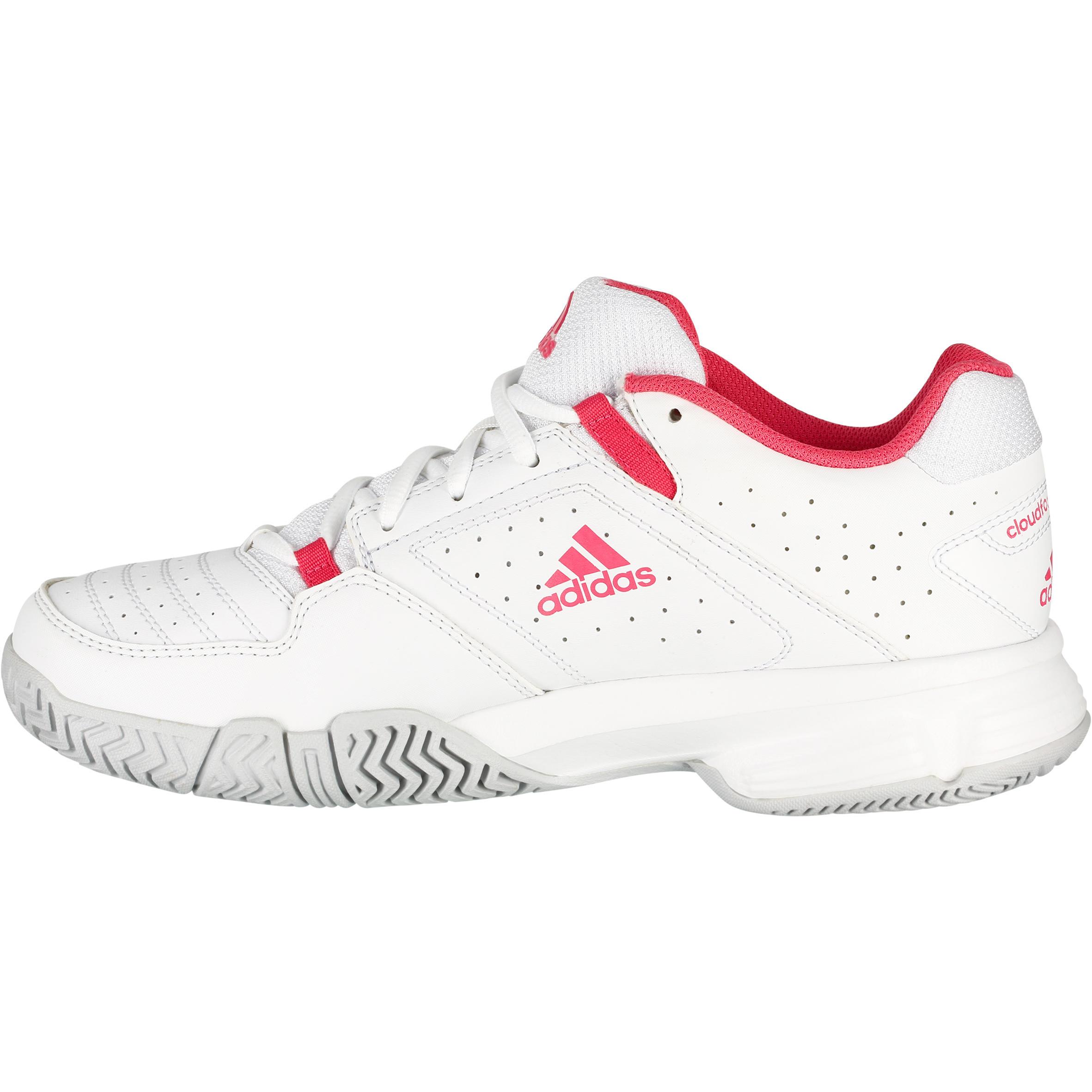 revendeur d7289 dc85a Court Adidas Cloudfoam Femme Decathlon Chaussures Tennis ...