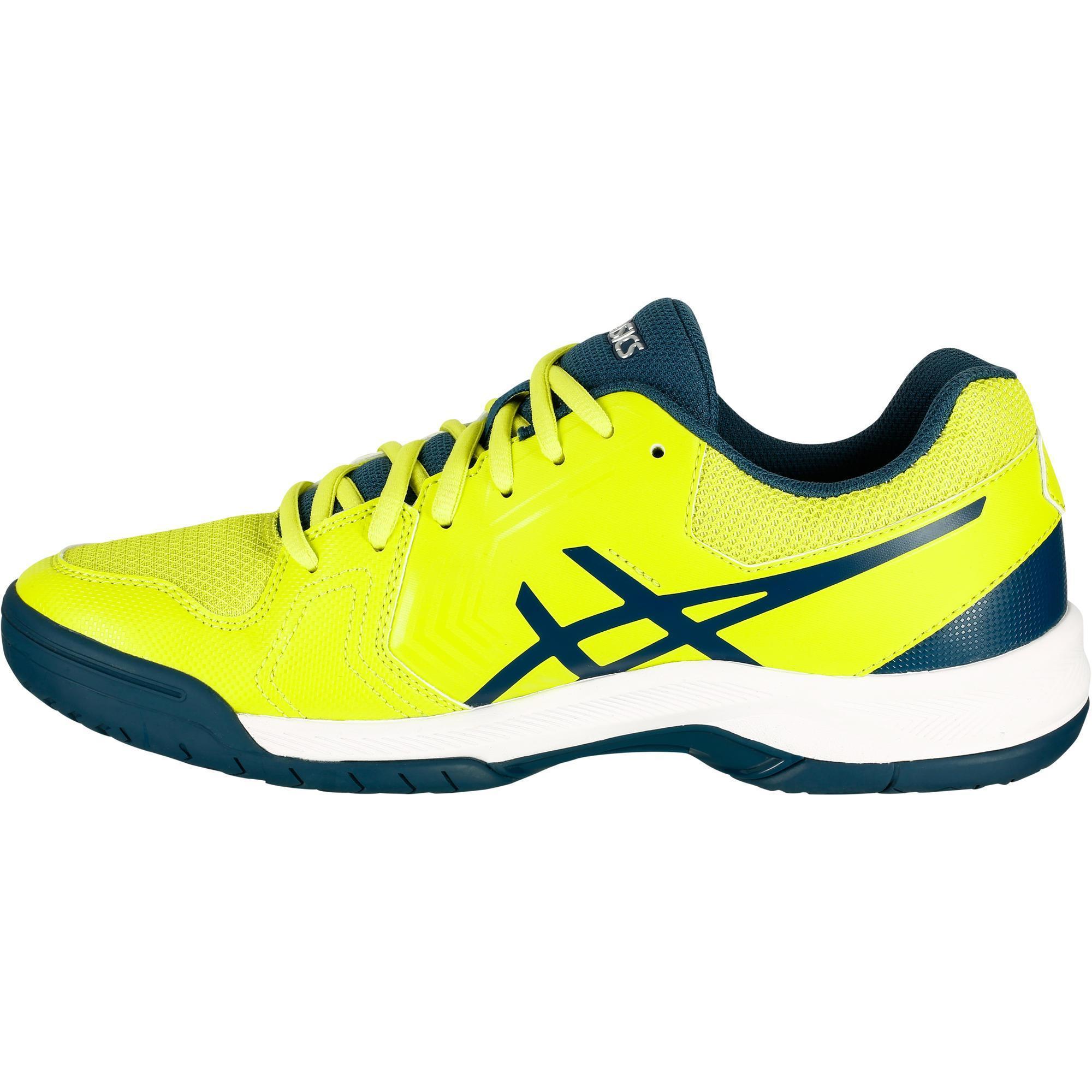 timeless design 55a18 3e2c1 Jaune Homme Decathlon Dedicate Asics Chaussure Tennis Gel De 01W8wWRtqY