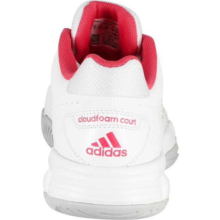 Tennisschoenen dames Adidas Cloudfoam Court wit