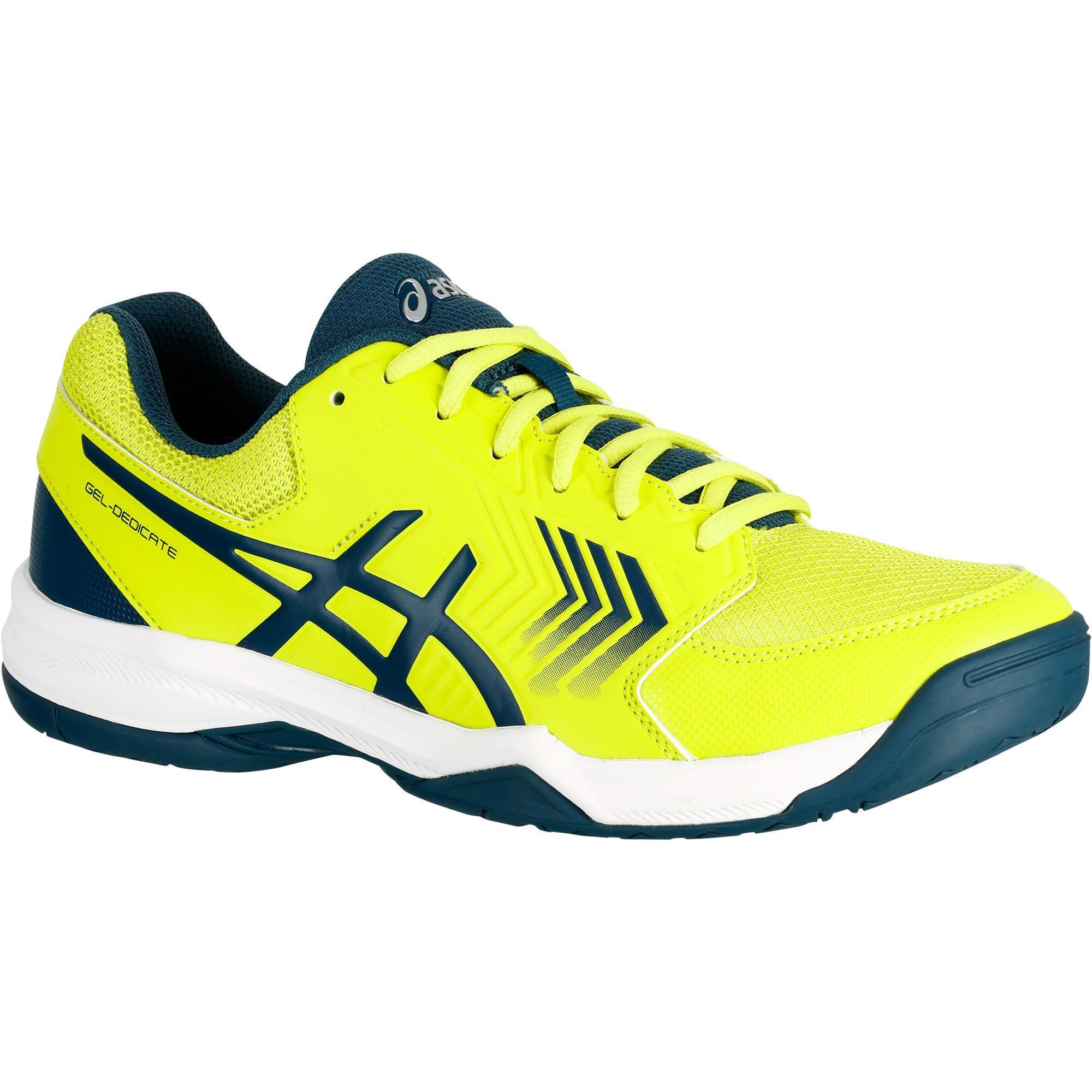 Asics Tennisschoenen heren Asics Gel Dedicate geel