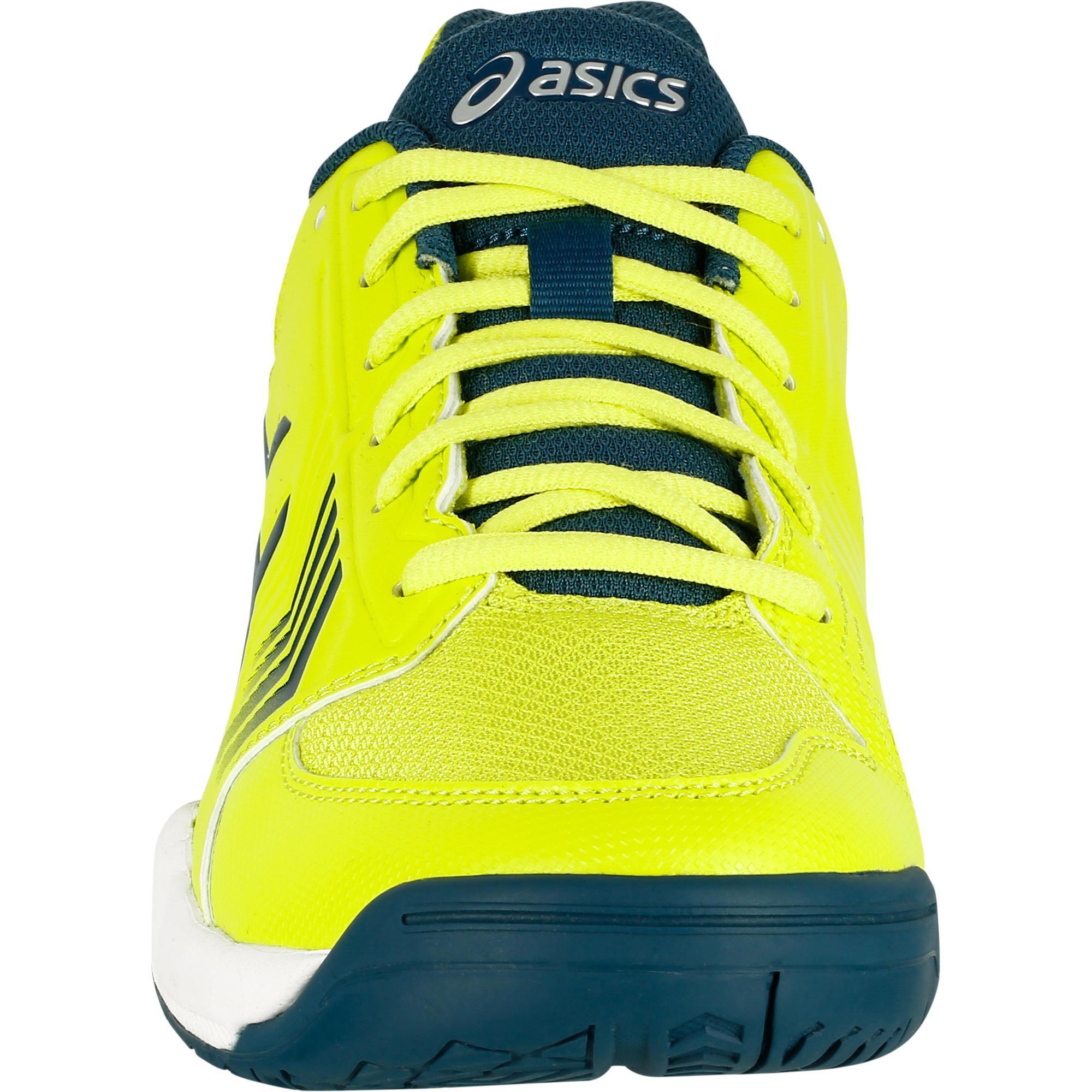 promo code 87322 53dc3 Gel Chaussure Tennis Homme Asics De Decathlon Jaune Uwyqw Dedicate qB1tRR