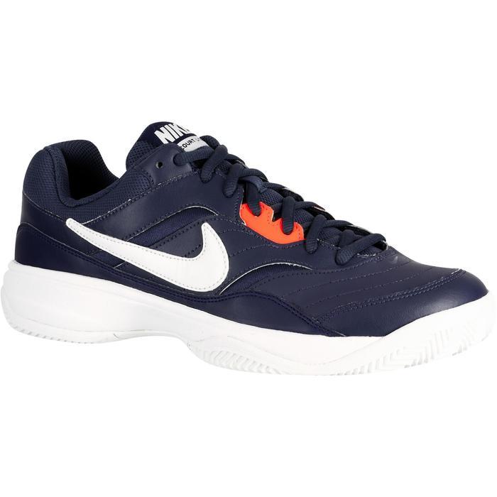Chaussures Tennis Nike Court Lite Terre Battue Bleu - 1247418