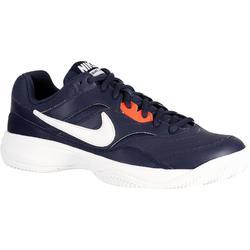 bab9f551e6b81 Zapatillas Tenis Hombre Nike Court Lite Tierra batida Azul