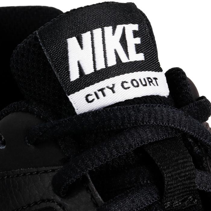 Turnschuhe Tennisschuhe City Court Kinder schwarz