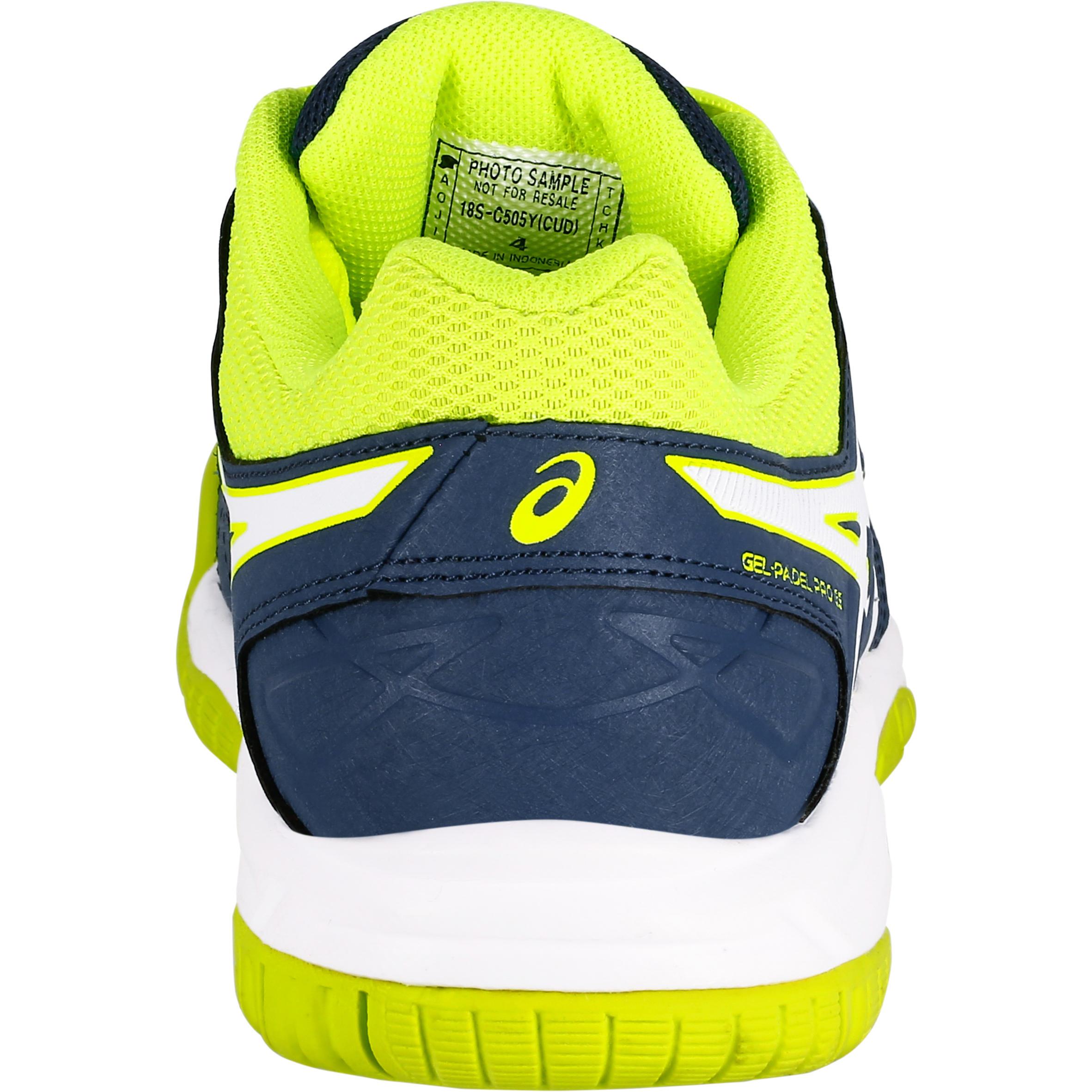 Chaussures Asics Jaune Pro Jr Decathlon Tennis Bleu Gel De Enfant rqt1T8wrS