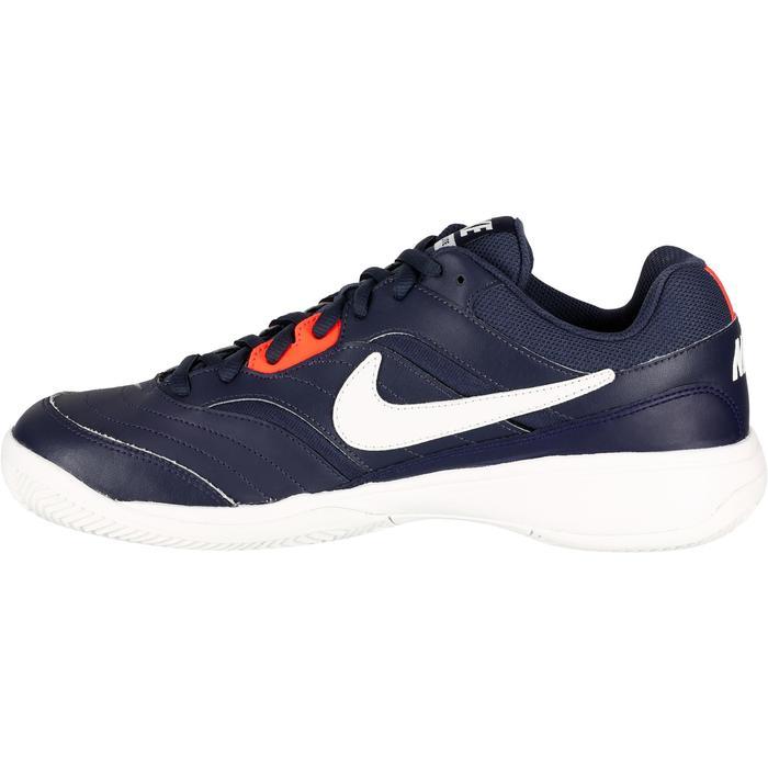 Chaussures Tennis Nike Court Lite Terre Battue Bleu - 1247428