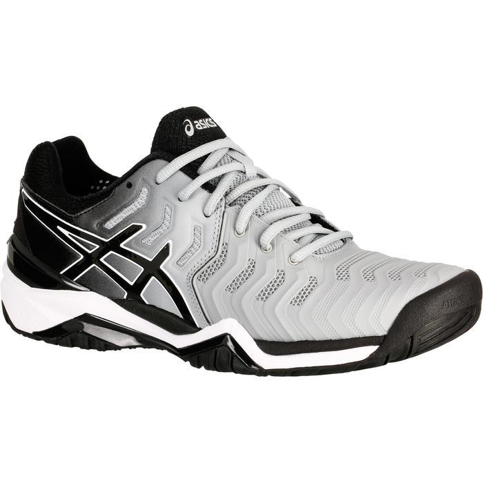 Tennisschoenen heren Gel Resolution 7 grijs multicourt
