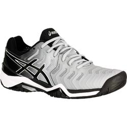 Tennisschuhe Gel Resolution 7 Multicourt Herren grau