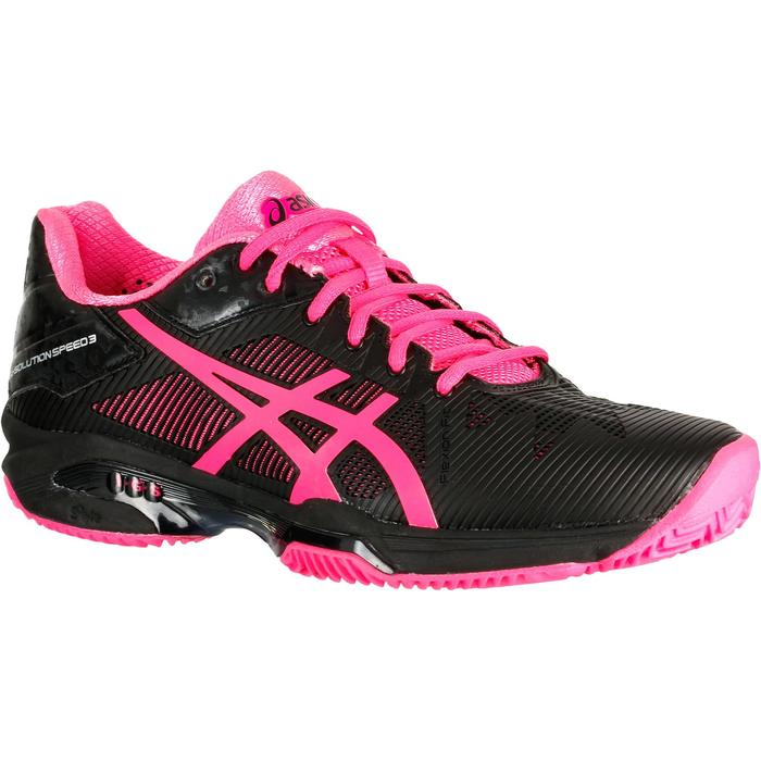 Tennisschoenen voor dames Solution Speed Clay zwart