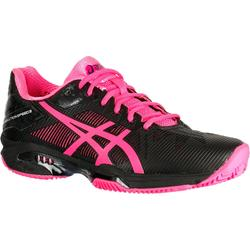 CHAUSSURES DE TENNIS FEMME Solution Speed Clay Noir