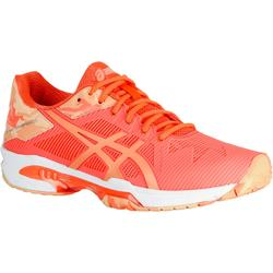CHAUSSURES DE TENNIS FEMME Gel Solution speed Flash Orange