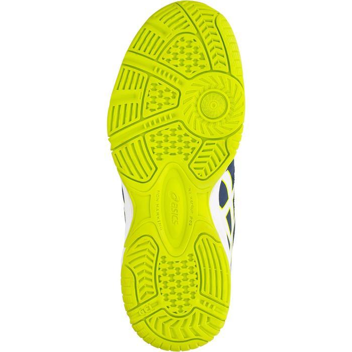 Tennisschuhe Multicourt Gel Pro Kinder blau/gelb