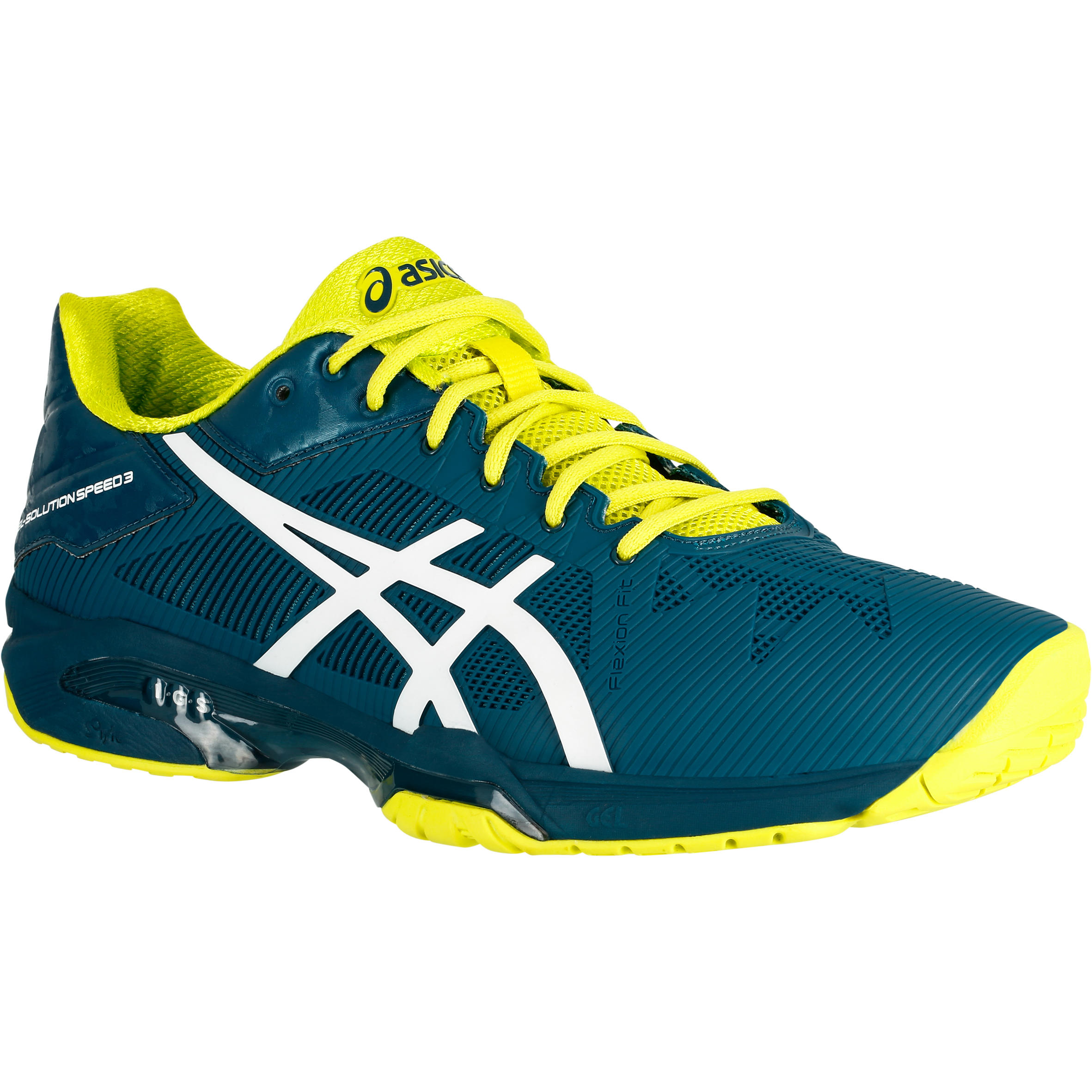 Asics Tennisschoenen heren Gel-Solution Speed 3 blauw
