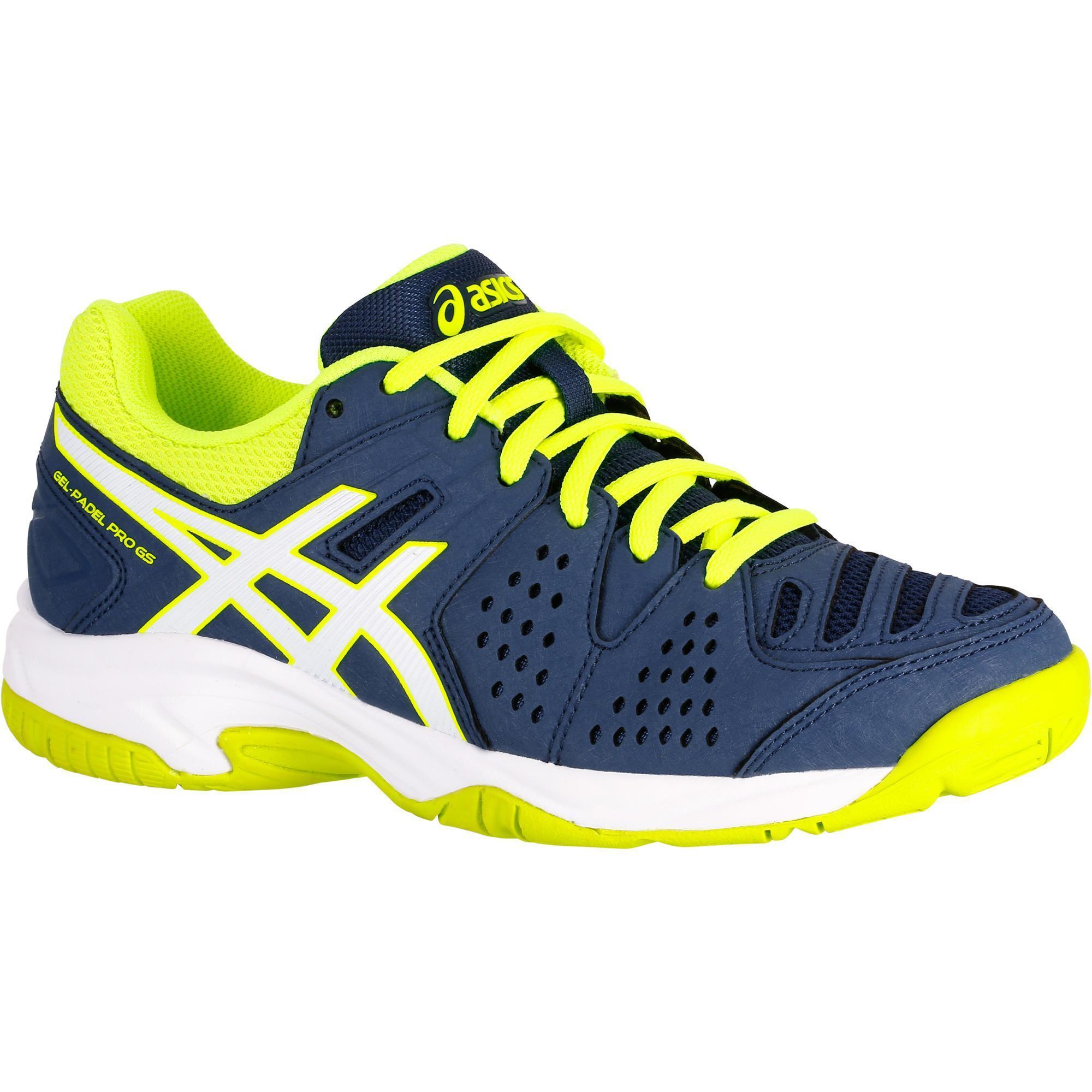 Asics Tennisschoenen voor kinderen Asics Gel Pro blauw geel