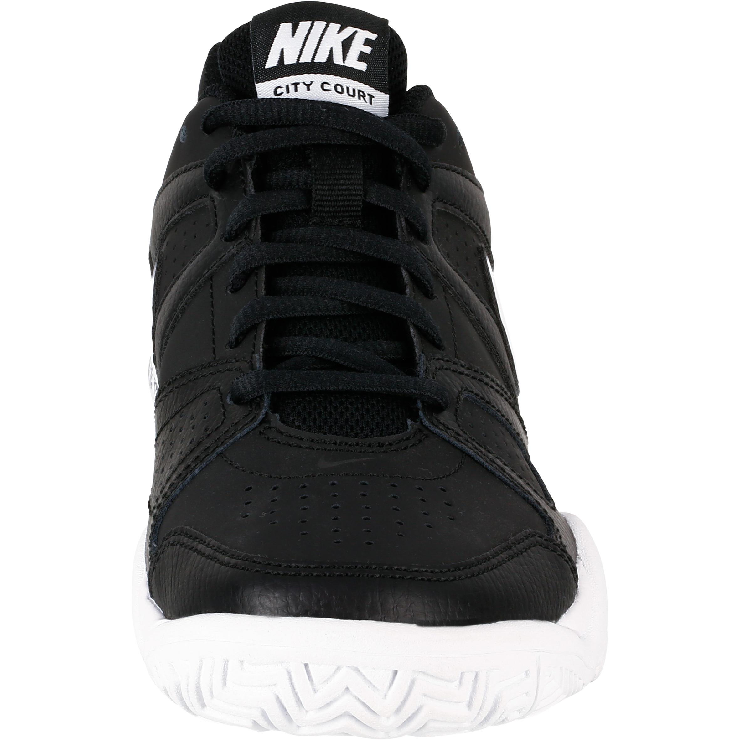 Chaussures Noir De Enfant City Thqxrdsc Nike Tennis Court yYbg76f