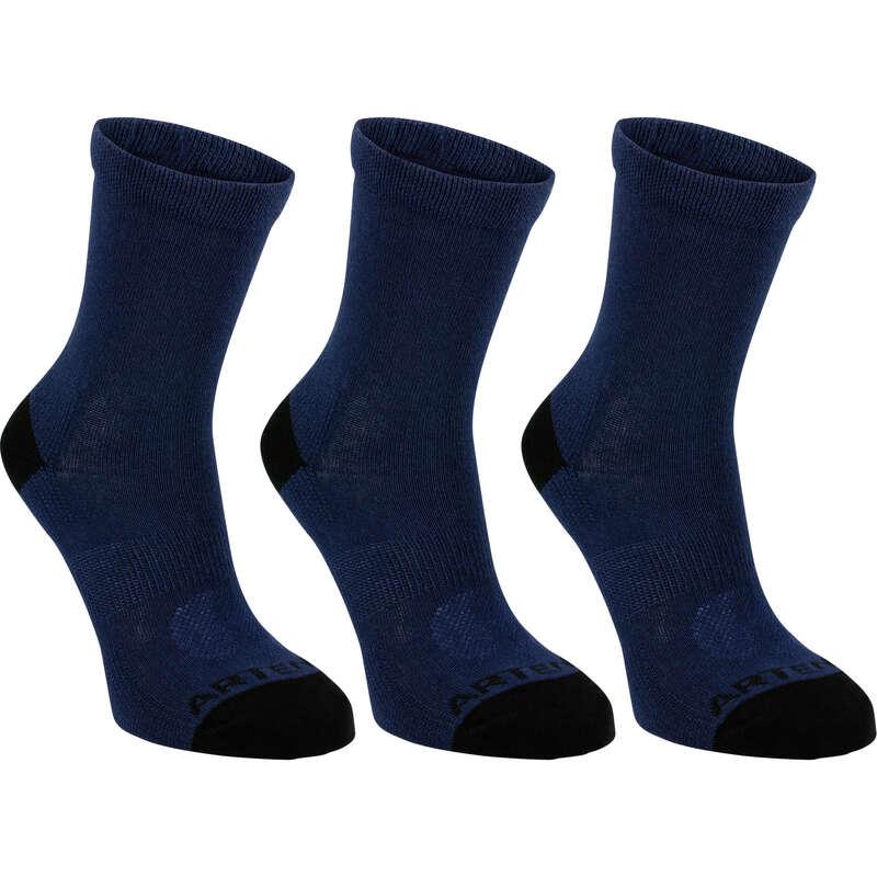 JUNIOR SOCKS Tennis - JR High Socks RS 160 Tri-Pack ARTENGO - Tennis