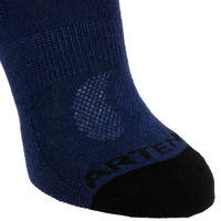 Kids' High Tennis Socks RS 160 Tri-Pack - Navy