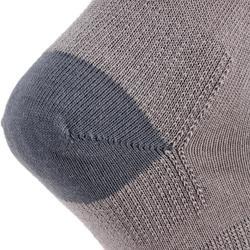 Hoge tennissokken voor kinderen RS 160 grijs 3 paar