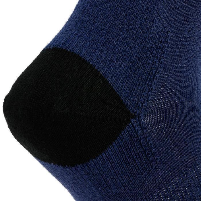 Sokken voor kinderen RS 160 x3 marineblauw