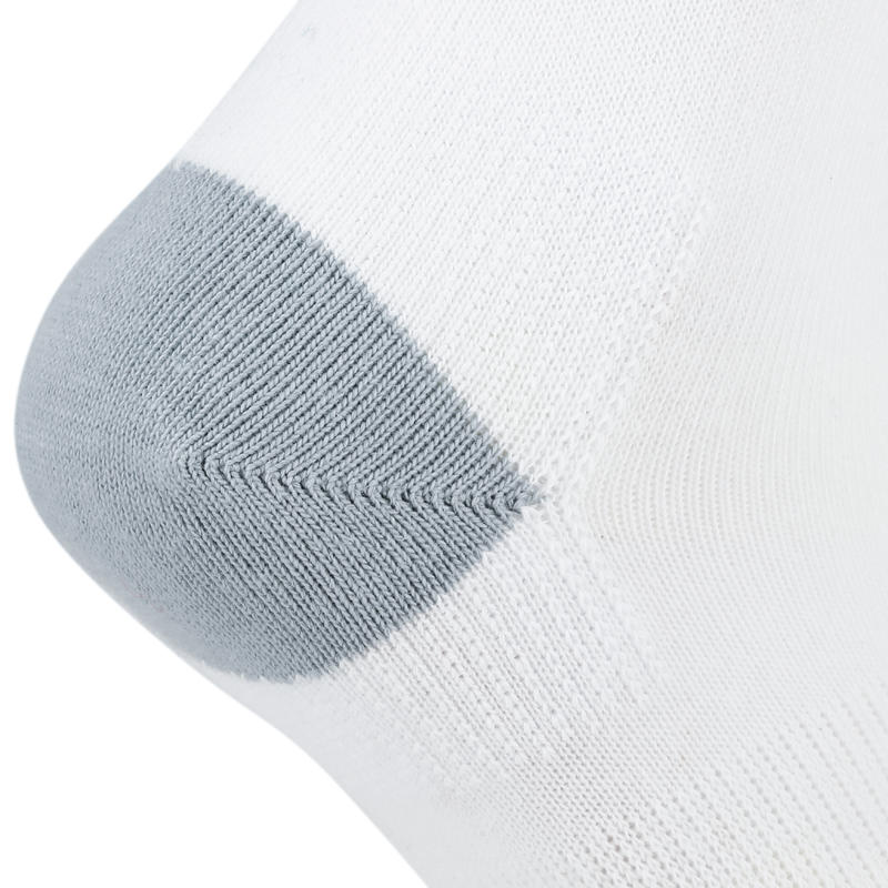 Kids' High Tennis Socks RS 160 Tri-Pack - White