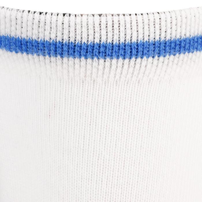 Halfhoge sportsokken voor kinderen Artengo RS 160 wit/blauw 3 paar - 1247544