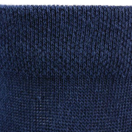 RS 160 Kids Mid Sports Socks Tri-Pack - Navy Blue