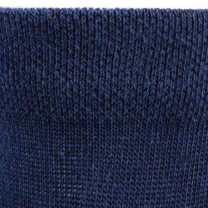 Halfhoge sportsokken kinderen Artengo RS160 marineblauw 3 paar - 1247556
