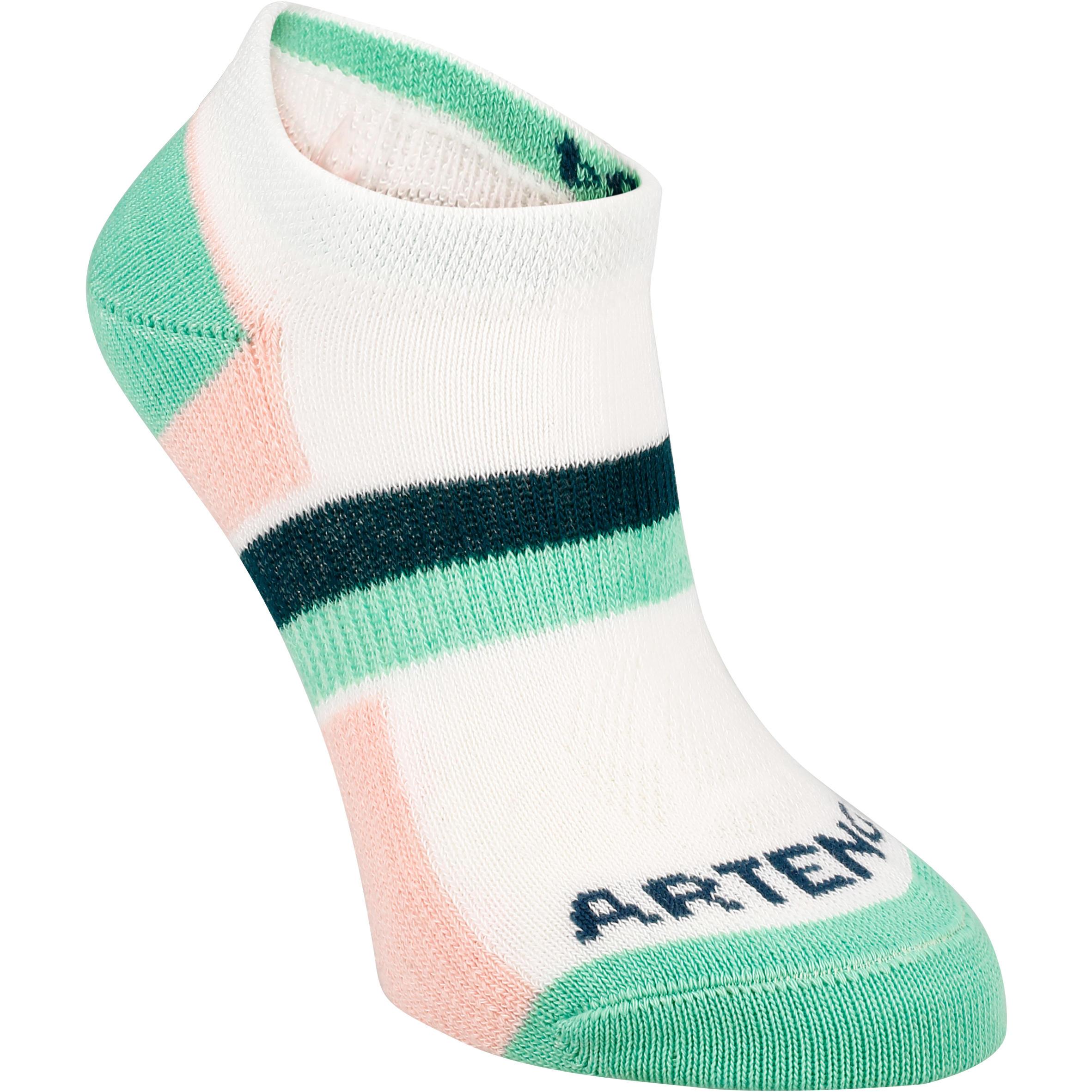 Junior Socks Low 3-Pack - Pink\Green