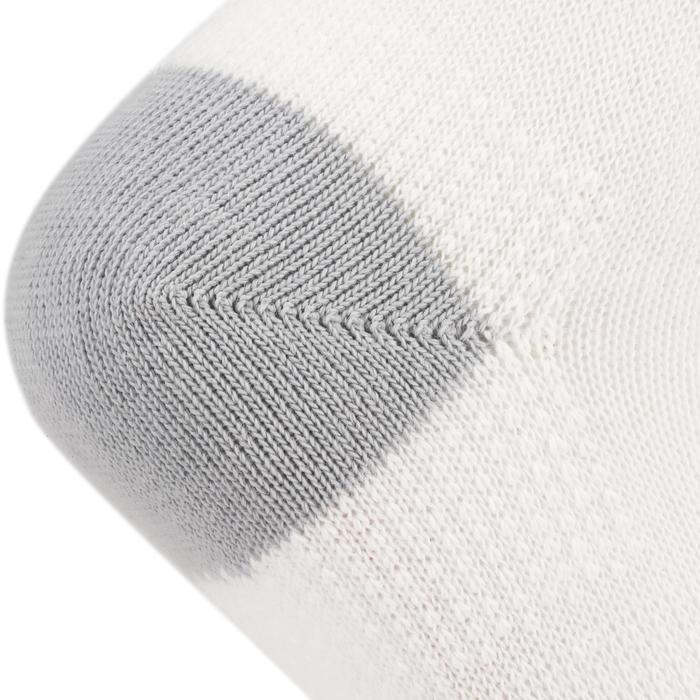 Halfhoge sportsokken voor kinderen Artengo RS 160 wit 3 paar