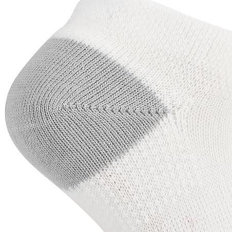 RS 160 Kids' Low Sport Socks Tri-Pack - White