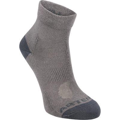 RS 160 Kids' Mid Sport Socks Tri-Pack - Grey