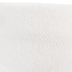 Halfhoge tennissokken voor kinderen RS 160 wit 3 paar