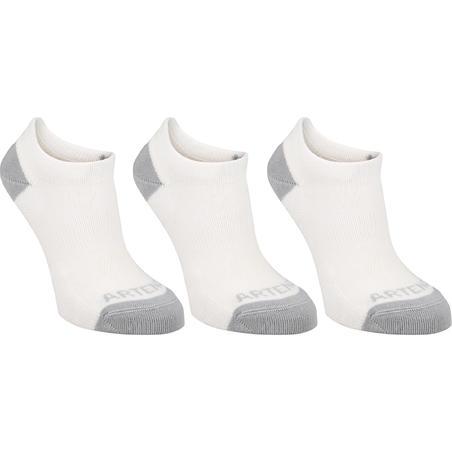 RS 160 Kids' Low Sport Socks 3-Pack - Putih