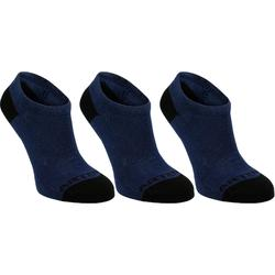 Tennissocken RS160 Low 3er Pack Kinder