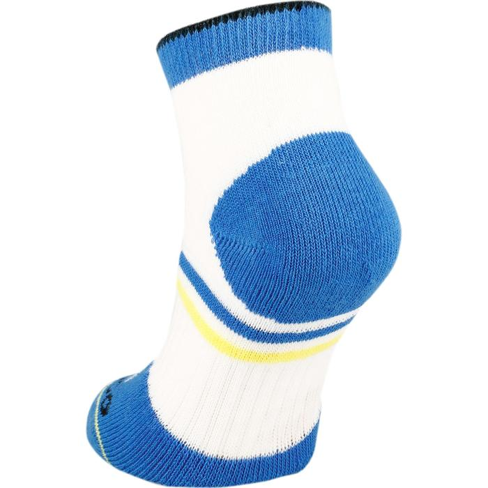 Tennissocken RS 500 Mid 3er Pack Kinder weiß/blau