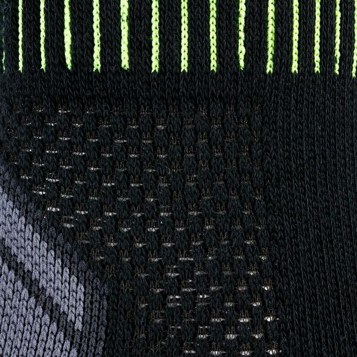 Tennissocken RS 900 High 3er-Pack schwarz/gelb