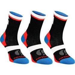 RS160 Score High Sport Socks Tri-Pack - Black