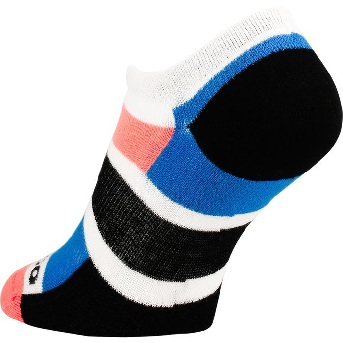 Tennissocken RS 160 Low 3er-Pack Damen blau/koralle