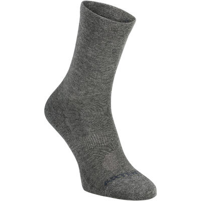 High Tennis Socks RS 160 Tri-Pack - Grey