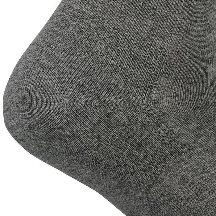 Tennissokken RS 160 high grijs 3 paar